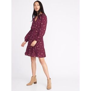 Old Navy Georgette Floral Dress